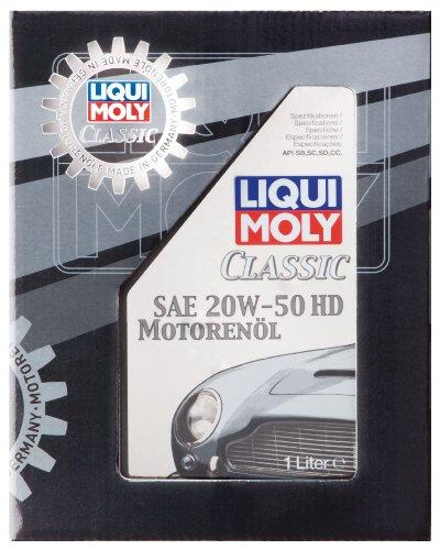 Liqui Moly 1128 - Olio motore Classic, SAE 20 W-50 HD, 1 litro
