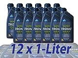 Aral SuperTronic Longlife III 5W-30 12x1 Liter Super Tronic Motor-Öl Motoren-Öl