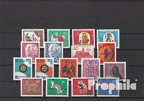 Preisvergleich Produktbild BRD (BR.Deutschland) 1967 kompletter Jahrgang in sauberer Erhaltung (Briefmarken für Sammler)