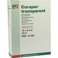 CURAPOR Wundverband steril transparent 8x10 cm 25 St Pflaster preisvergleich bei billige-tabletten.eu