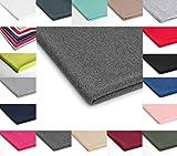 French Terry Polyester Stoff Jersey 50x180 cm - Verschiedene Farben (Dunkelgraue Melange Nr.13)