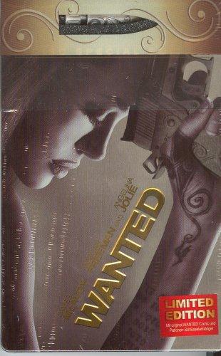 Wanted - Limited Edition mit Patronen-Schlüsselanhäger + Comic im Steelbook