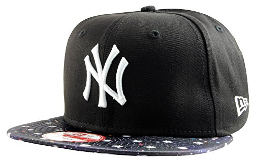 New Era - Casquette Snapback Homme New York Yankees 9Fifty PS Visor - Black - Taille S/M