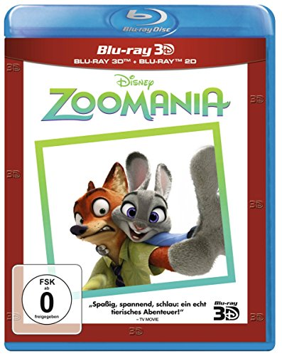 Zoomania 3D (inkl. 2D Superset) [3D Blu-ray]