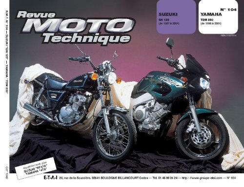 Rmt 104.2 Suzuki Gn 125/Yamaha Tdm 850
