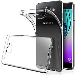 AICEK Coque Samsung Galaxy A3 2016, Etui Silicone Gel Samsung Galaxy A3 2016 (A310F) Housse Antichoc Samsung A3 Transparente Souple Coque de Protection pour Samsung Galaxy A3 2016 (4.7 Pouces)