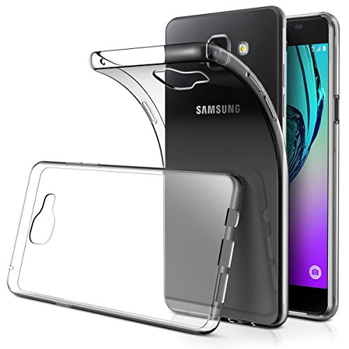 AICEK Galaxy A3 2016 Hülle Case, Ultra-Clear Samsung Galaxy A3 2016 Case Silikon Soft TPU Crystal Clear Premium Durchsichtig Handyhülle Schutzhülle Case Backcover Bumper Slimcase für Galaxy A3 2016