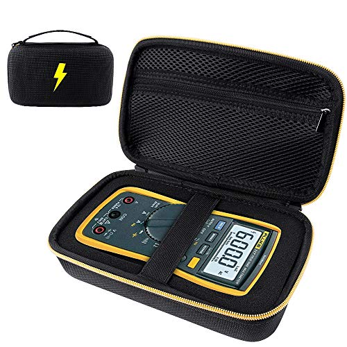 Tasche für Multimeter Digital Fluke 117/116/115/114/113/103/17B+/177/87V/Multimeter Greenlee Spannungsprüfer