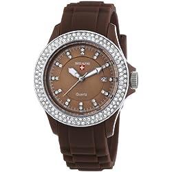 Swiss Alpine Damen-Armbanduhr Vivace Analog Quarz Silikon SA.VIVL.1.8.83.66
