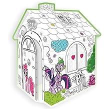 """Kartonhaus Casa de juegos para Pintar """"Mi Pequeño Pony"""""""