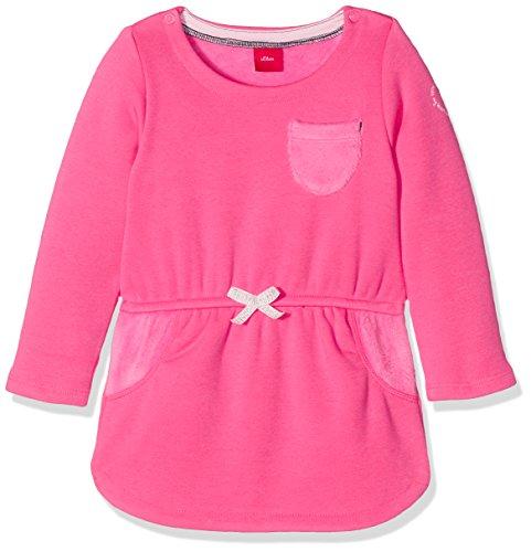 s.Oliver Baby-Mädchen Kleid 65.710.82.2679, Rosa (Pink 4424), 86 (Rosa Junior Kleider)