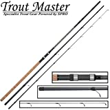 Trout Master Metalian Tactical Trout 3,3m 5-40g - Forellenrute zum Standangeln & Schleppen auf Forellen, Angelrute, Sbirolinorute