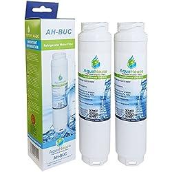 2x AquaHouse filtro per l'acqua compatibile per Bosch Ultra Clarity 644845, Neff, Siemens, Miele Gaggenau Frigorifero