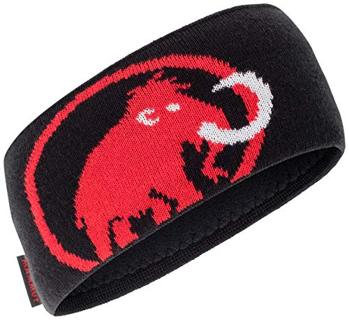 Mammut Stirnband Tweak Headband, Black-Magma, one Size