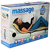 BODY MASSAGER BED MATTRESS WITH 9 MOTOR AND 9 SOOTHING HEAT + 1 MINI MASSAGER + 1 ALUMA WALLET
