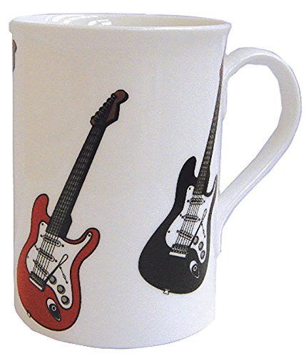 Bone China Mug - Electric Guitar