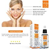 PREMIUM Vitamin C Serum For Face with Hyaluronic Acid Serum - Anti Ageing & Anti Wrinkle Serum - Our Customer Call It A Face Lift without the needles! This Vitamin C Serum Will Plump, Hydrate & Brighten Skin While Filling In Those Fine Lines & Wrinkles. Thin Consistency For Easy Absorption.