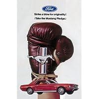 Ford Mustang Guantes de boxeo Cartel de chapa 20x 30cm cartel Sign Chapa