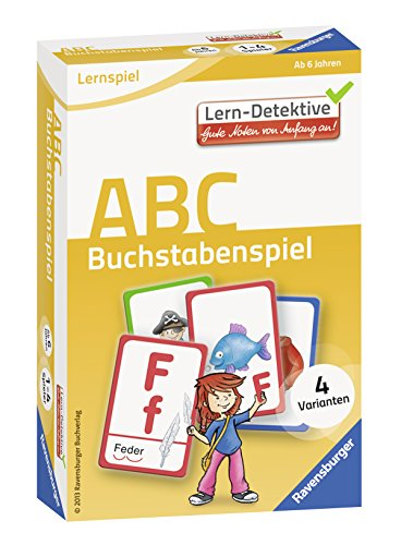 ABC. Buchstabenspiel (Lern-Detektive - Lernspiel) - 2