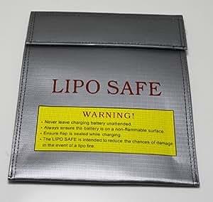 Free US Ship Lipo Battery Fireproof Bag Storage Bag Lipo Battery Guard Safe Bag Fiber Material for Charge & Storage 30x23cm