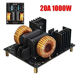Generic 20A 1000W ZVS Low Voltage Induction Heating Board Module Flyback Driver Heater One piece