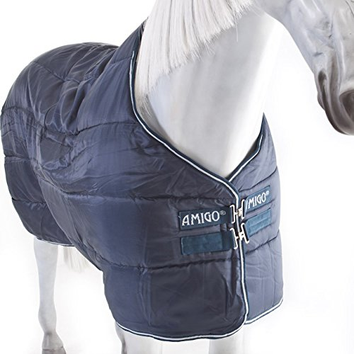 Horseware Stalldecke Amigo Insulator heavy 350g - navy/white, Groesse:145