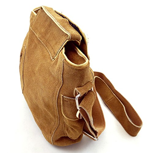 Trachtentasche Dirndltasche Lederhosen-Tasche Umhängetasche Leder Braun - Bild 3