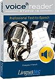 Voice Reader Studio 15 Français / French – Professional Text-to-Speech – Logiciel synthèse vocale pour Windows