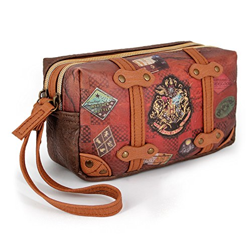 Karactermania Harry Potter Railway  Bolsas de Aseo, 18 cm, Marrón