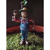 "Fiddlehead Fairy Garden ""Miniature Scarecrow c/w Pick"""