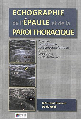 Echographie de l'paule et de la paroi thoracique