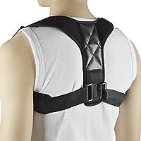 Selighting Corrector de Postura de Espalda Ajustables para Corrección de Postura Recto Hombro Espalda Postura para Hombres Mujeres Niños y Adolescente (One Size)