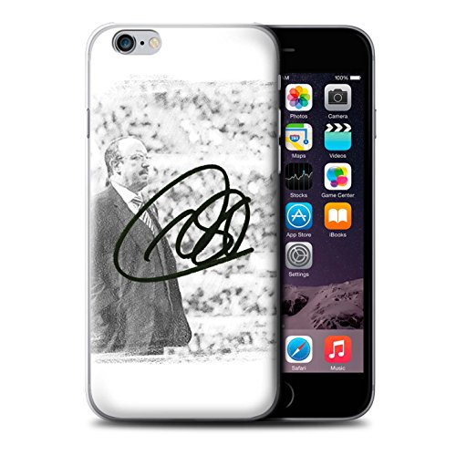 Offiziell Newcastle United FC Hülle / Case für Apple iPhone 6+/Plus 5.5 / Pack 8pcs Muster / NUFC Rafa Benítez Kollektion Autogramm