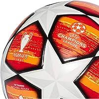 adidas Finale M TTRN Balón de Fútbol, Hombre, Multicolor (Blanco/Active Red/Scarlet/Solar Red/Bright Orange/Solar Gold/Negro), 5