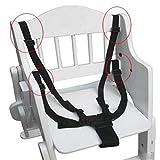 Kungfu Mall 5 points réglable sangle de ceinture d'entraînement de fixaction de...