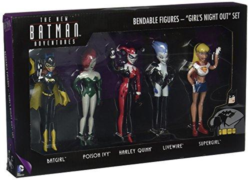 NJ Croce das neue Batman Abenteuer Mädchen NIGHT OUT BOX SET biegbare Figur (Der Auf Mädchen Harley)