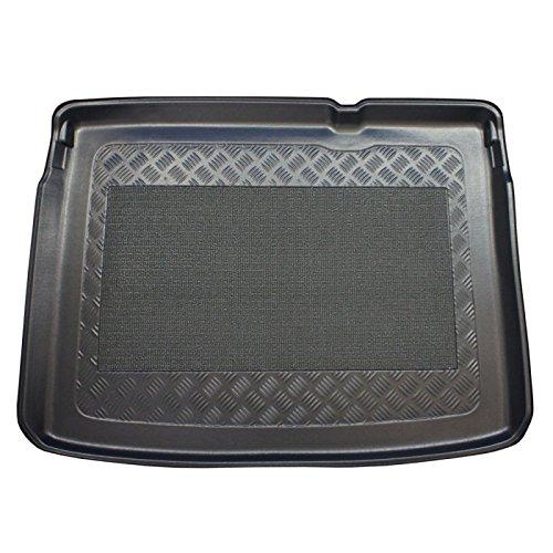 ZentimeX Z747286 Vasca baule su misura con superficie scanalata e integrato tappeto antiscivolo