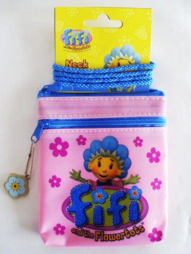 Fifi and the Flowertots - Pink Neck Purse / Bag
