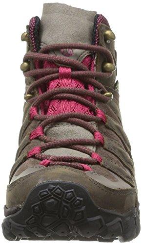 Merrell Chameleon Shift Mid Gtx, Chaussures de randonnée tige basse femme Marron (Bitter Root)
