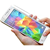 Premium Panzerglas 9H Pro (Samsung Galaxy Grand Prime) Schutzfolie Hartglas Panzerglasfolie Handy Displayschutz Glasfolie Schutzglas Hartglasfolie Displayschutzfolie Smartphone