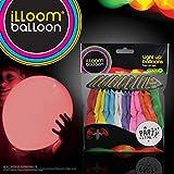 illooms - LED Luftballons, 15 Stück -mehrfarbig- leuchten bis zu 15 Stunden, Hochzeit Gebutstag Party