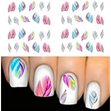 Demarkt Mixed Color Diseño De La Flor Nail Art Pegatinas Calcomanías Manicura Hermosa Decoración de Accesorios de Moda