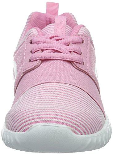 KangaROOS Mädchen Ele Sneaker Pink (LT ROSE/White)
