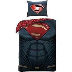 Superman pecho funda de edredón y funda de almohada Set