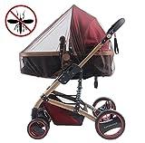 Universal Insektenschutz für Kinderwagen, Funktionell und Einfach (Kaffee)