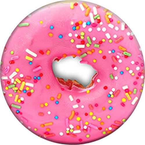 PopSockets - Ausziehbarer (Nicht Austauschbarer) Sockel und Griff für Smartphone und Tablet - Pink Donut