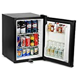 Frostbite Zero Degrees Mini Bar 35ltr - Counter Top Mini Fridge with Lockable Door, Suitable for Milk
