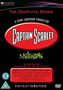 Captain Scarlet - Complete Series Box Set [DVD] [1967]