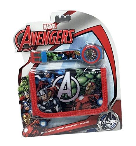 montre-enfant-avengers-iron-man-hulk-captain-america-marvel-comics-plus-portefeuille