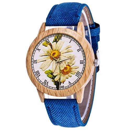 Damen Herren Uhren Unisex Mode Klassisch Lederband Analoge Led Armbanduhr Unisex Armbanduhr Herren Quartz Analog Sale Billige Uhren Herren Uhren Lederband Damen Uhren Blau